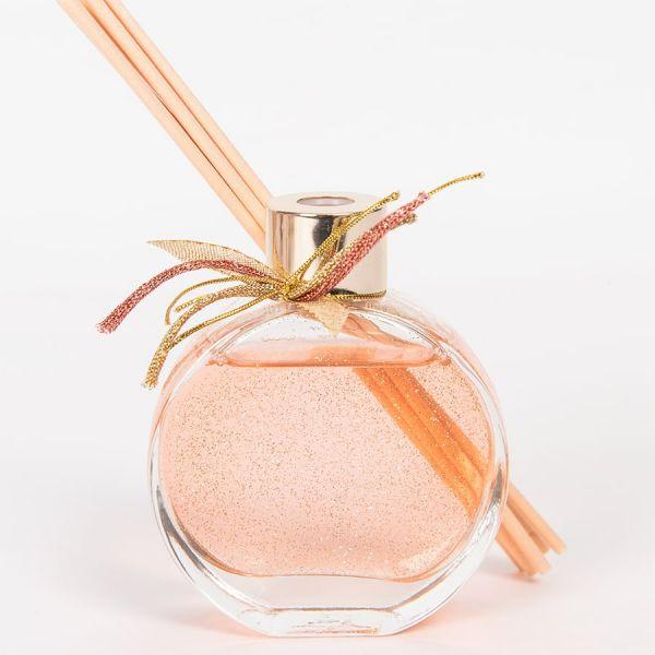 Μπομπονιέρα Αρωματικό χώρου ροζ με glitter 60ml Soap Tales