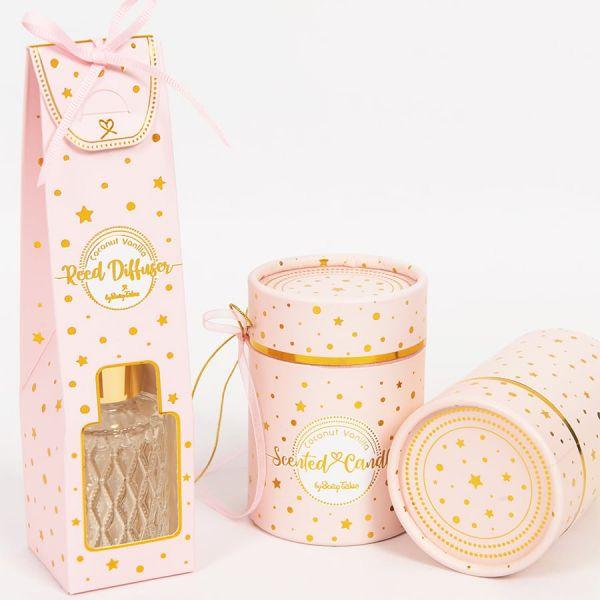 Αρωματικό Ροζ Χρυσό Coconut Vanilla 35ml Soap Tales