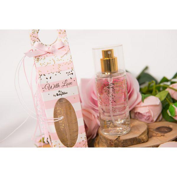 Body Mist Ροζ Ριγέ Vanilla