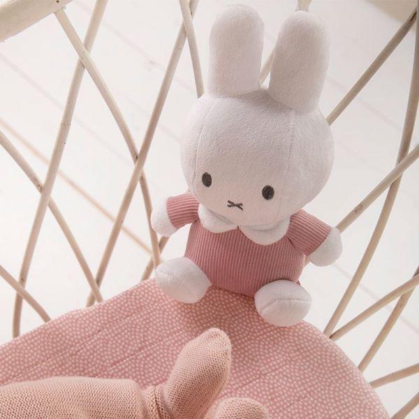Υφασματινο λουτρινο 20cm Miffy Pink