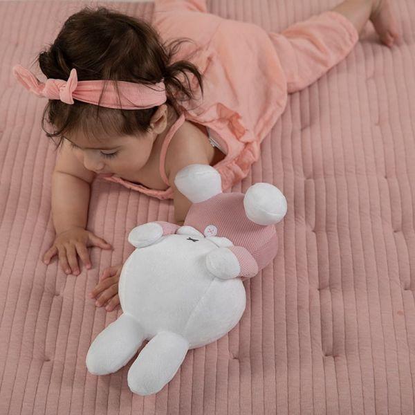 Υφασματινο λουτρινο 32cm Miffy Pink