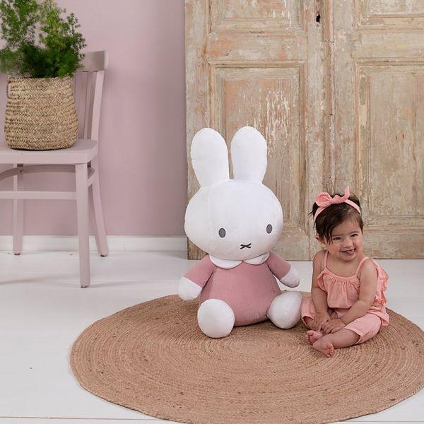 Υφασματινο λουτρινο 60cm Miffy Pink