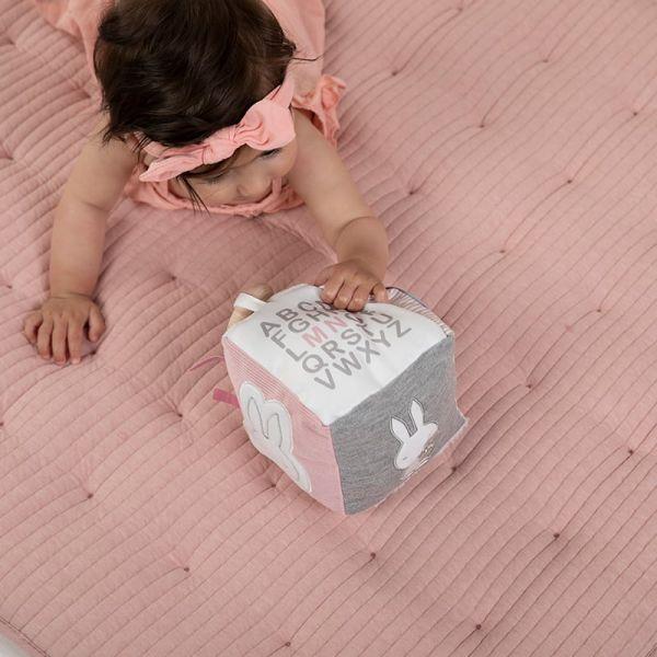 Κύβος δραστηριοτητων Miffy Pink
