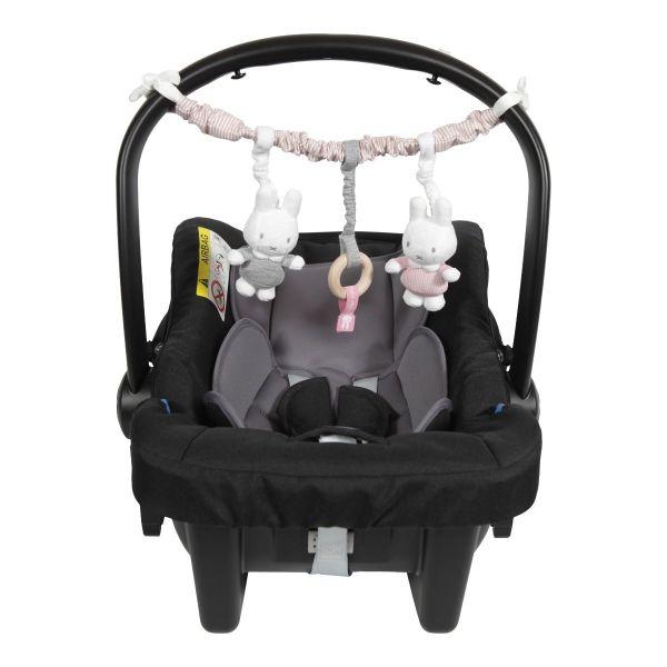 Γιρλάντα Καροτσιου / Καθισματος αυτοκινητου Miffy Pink
