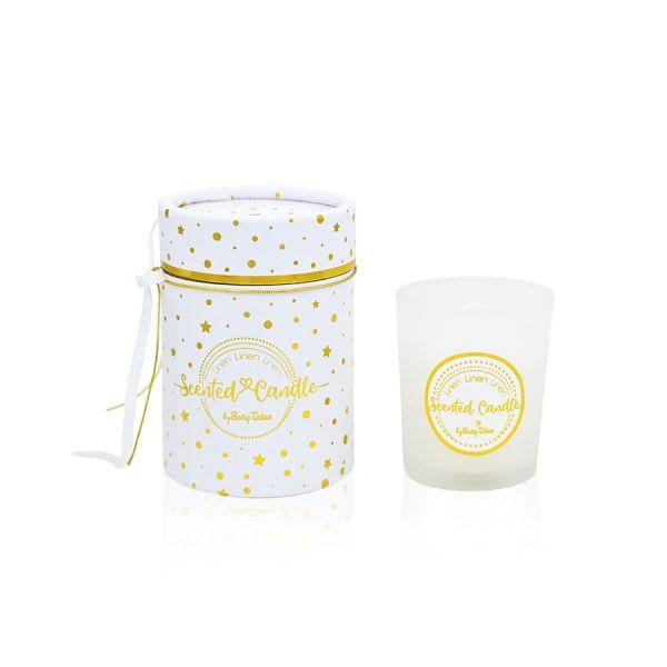 Μπομπονιέρα Κερί Λευκό Linen Soap Tales