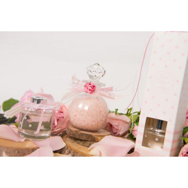 Αρωματικό Ροζ Ριγέ Πουά Morning Fresh 40ml Soap Tales