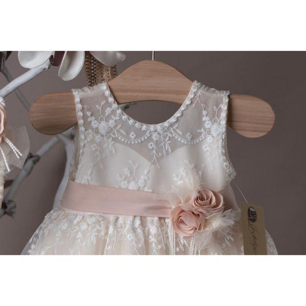 Βαπτιστικό φόρεμα La Christine 21K405