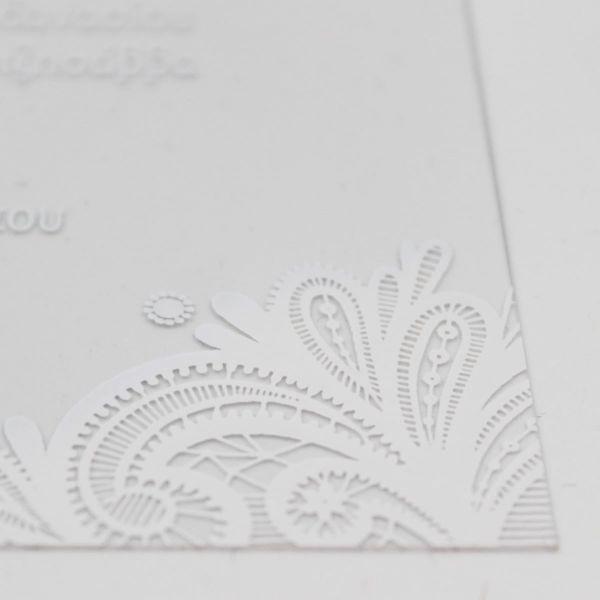 Προσκλητήριο γάμου PVC