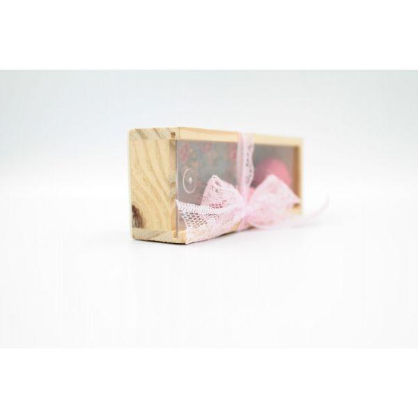 Μπομπονιέρα Βάπτισης Ξύλινο κουτί