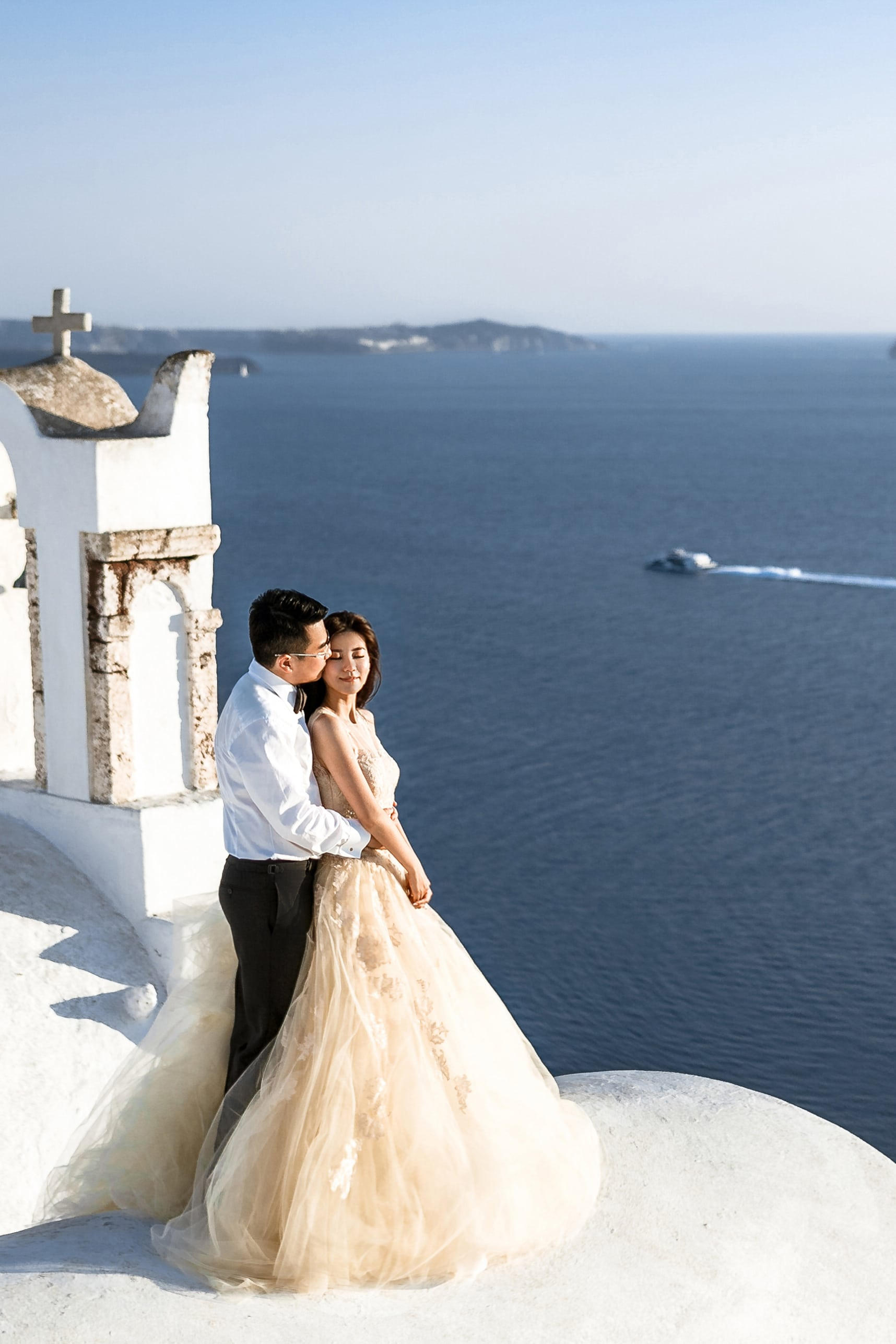 Next day Γάμου - Φωτογράφιση στη Σαντορίνη